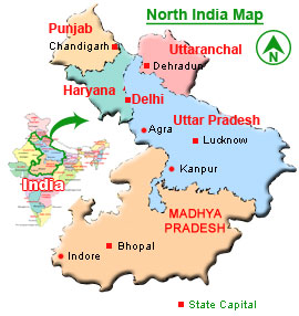 North India North India Information Information About North India